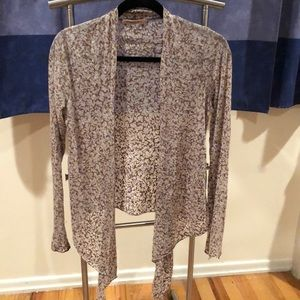 GUC velvet wrap cardigan size Small